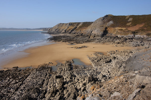Foxhole Bay, Gower