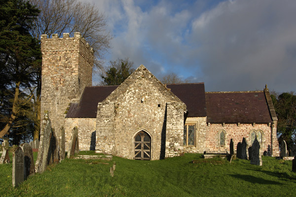 Penrice Church, Gower