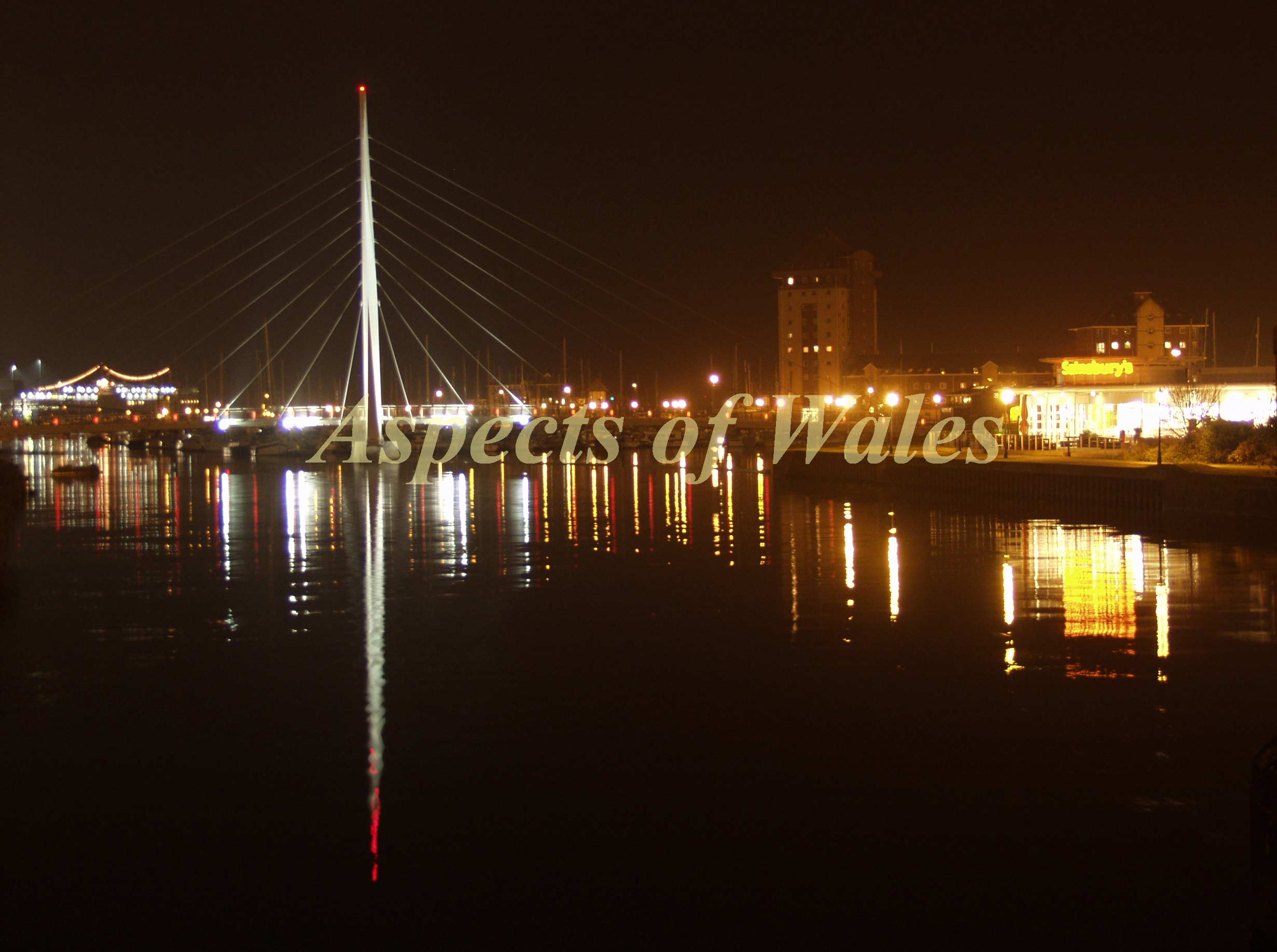 Tawe sailbridge, Swansea